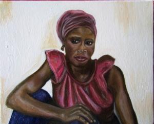 donna al muro