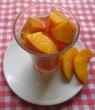 persica cu vinu